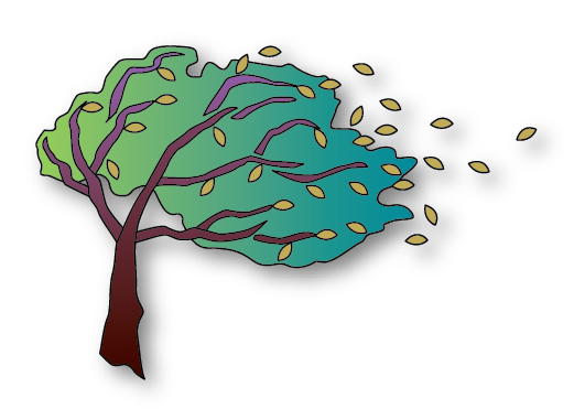 Wind Tree Clipart Cart...