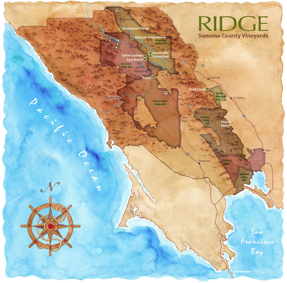 Ridge Sonoma County